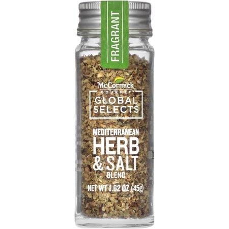 McCormick Gourmet Global Selects Mediterranean Herb & Salt Blend, 1.62 oz Herb Salt Free Seasoning