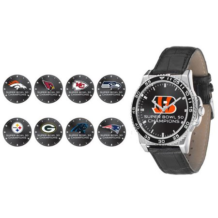 Denver Broncos Super Bowl 50 Champion Men S Watch   Champ
