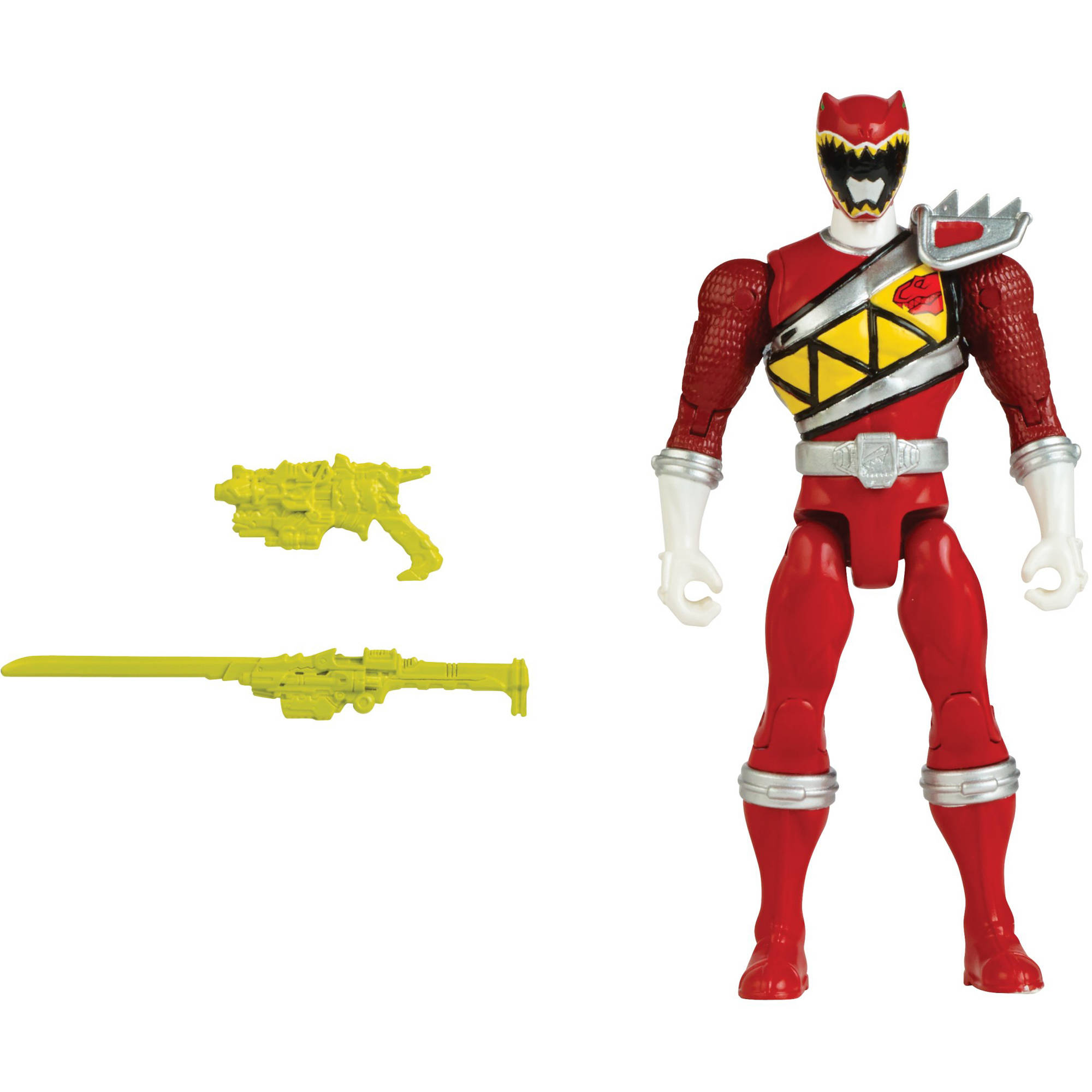 """Power Rangers Dino Charge 5"""" Red Ranger Action Hero by Bandai America"""