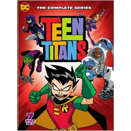 Teen Titans: Seasons 1-5 (DVD) (Best Teen Girl Shows)