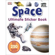 Ultimate Sticker Book: Space : More Than 250 Reusable Stickers
