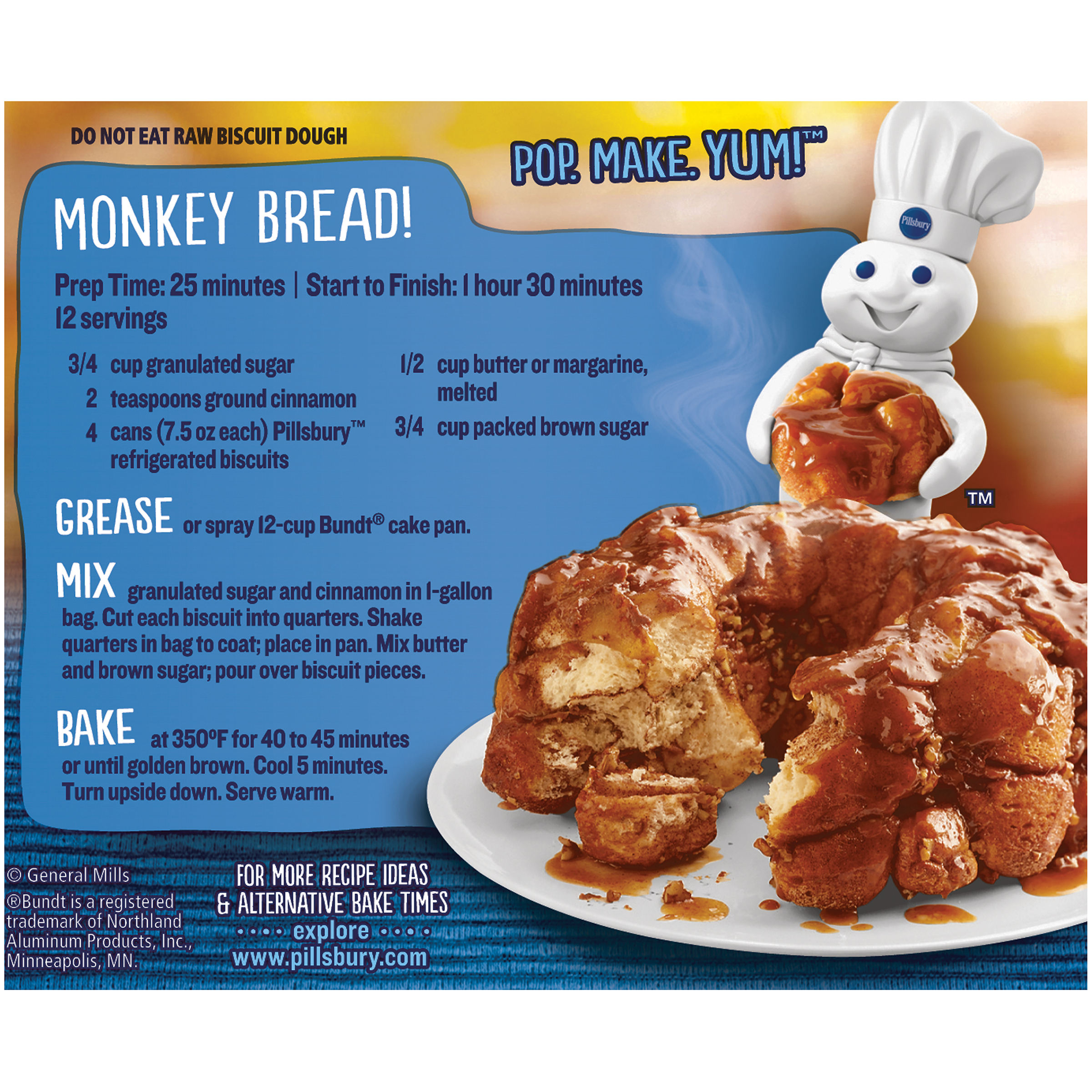 Enter Pillsbury's ready-made dough,. If you grab the rectangular pack instead of the tube, it has the added convenience of already being perforated so that you just have to separate the dough and place it on a cookie sheet.