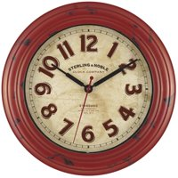 Deals on Mainstays 11.5-inch Wall Clock 50818