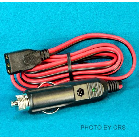 2 Wire External Plug In (ROADPRO R RPPS-220 3-PIN PLUG  12-VOLT FUSED REPLACEMENT 2 WIRE CB POWER CORD)