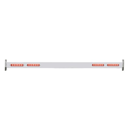 Brake Bar - 1932 Ford Rear Spreader Bar / Red 20 LED Brake Stop Turn Signal Tail Lights