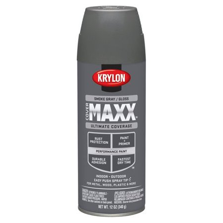 Krylon Smoke Grey Gloss CoverMaxx