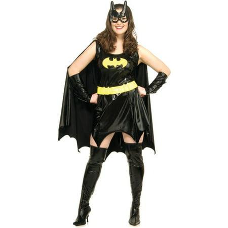 Morris costumes RU17441 Batgirl Plus Size