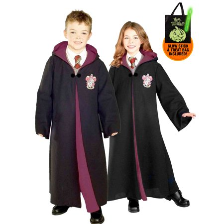 Adult Supercenter (Kid's Harry Potter Deluxe Gryffindor Robe Costume Treat Safety)