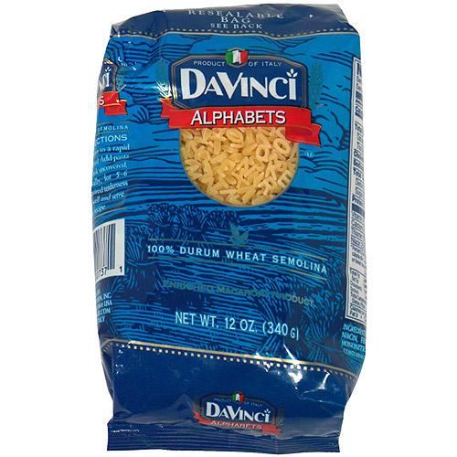 DaVinci Alphabet Macaroni, 12 oz (Pack of 12)