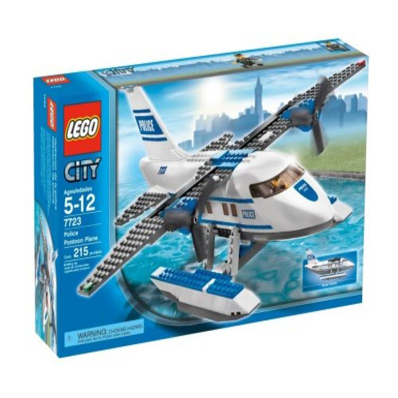 Lego City Police Pontoon Plane