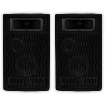 Acoustic Audio PA-500X Passive 800 Watt 3-Way Speaker Pair DJ PA Karaoke  Studio Speakers
