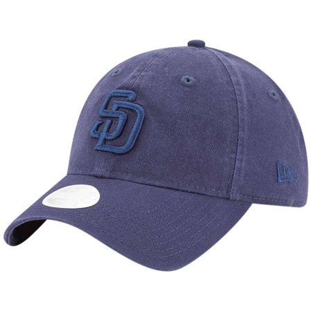 San Diego Padres New Era Women's Core Classic Tonal Team 9TWENTY Adjustable Hat - Navy - OSFA (San Diego Padres Hat)