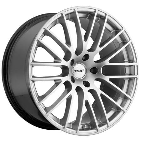 TSW Max 17x8 5x112 +32mm Hyper Silver Wheel