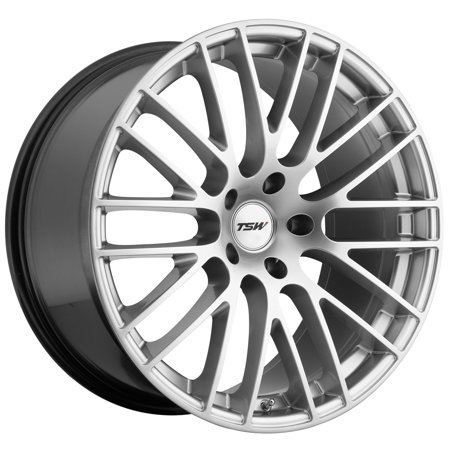 TSW Max 19x9.5 5x120 +35mm Hyper Silver Wheel Rim