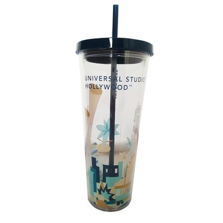 Starbucks Universal Studios Hollywood Venti Water Cup 24 Fl  Oz Tumbler