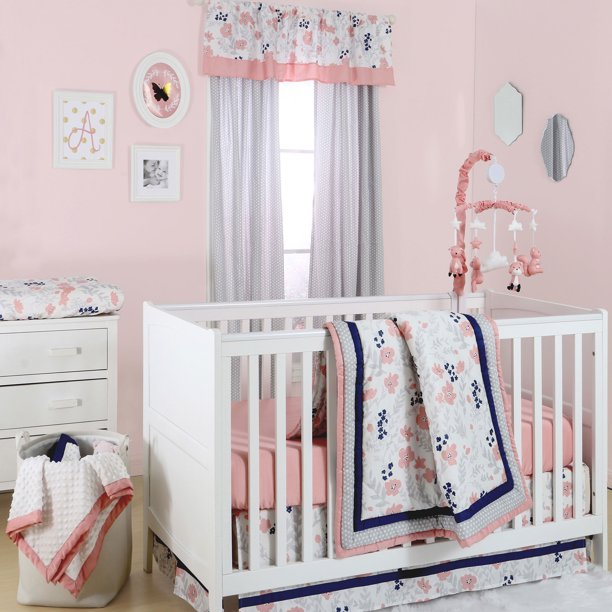 The Peanut Shell 3 Piece Baby Crib