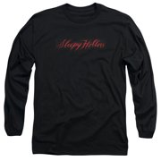 Sleepy Hollow Supernatural Horror Movie Logo Adult Long Sleeve T-Shirt