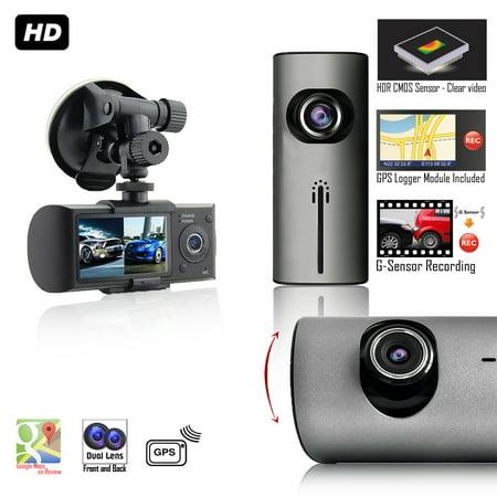 Indigi Blackbox Xr300 Dashboard Car Camera   2 7  Lcd   Wide Angle Lens   Gps Module   Google Maps Trace