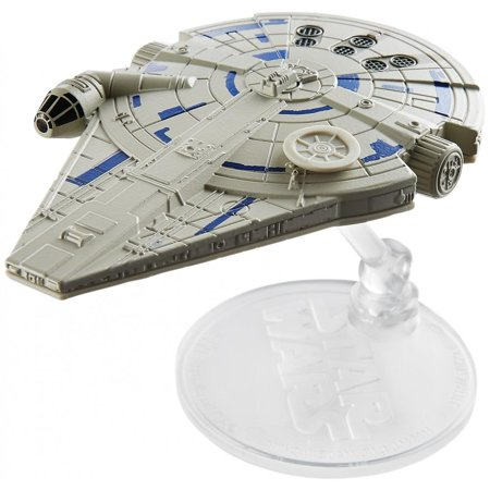 Hot Wheels Star Wars Starships Millennium Falcon Vehicle