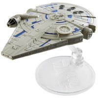 Deals on Hot Wheels Star Wars Starships Millennium Falcon Vehicle FJF23