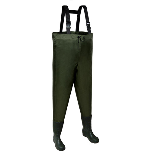 Allen Brule River Chest Wader Size 7, Cleat Sole