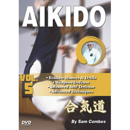 Aikido #5 Bokken, Weapons, Advanced Self Defense & Techniques DVD Sam (Best Self Defense Weapons For Female)