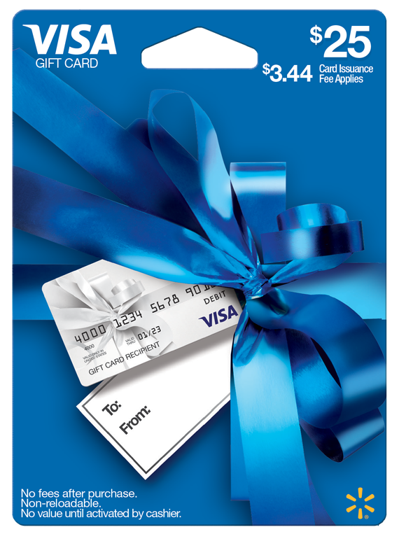 25 Walmart Visa Gift Card - Walmart.com