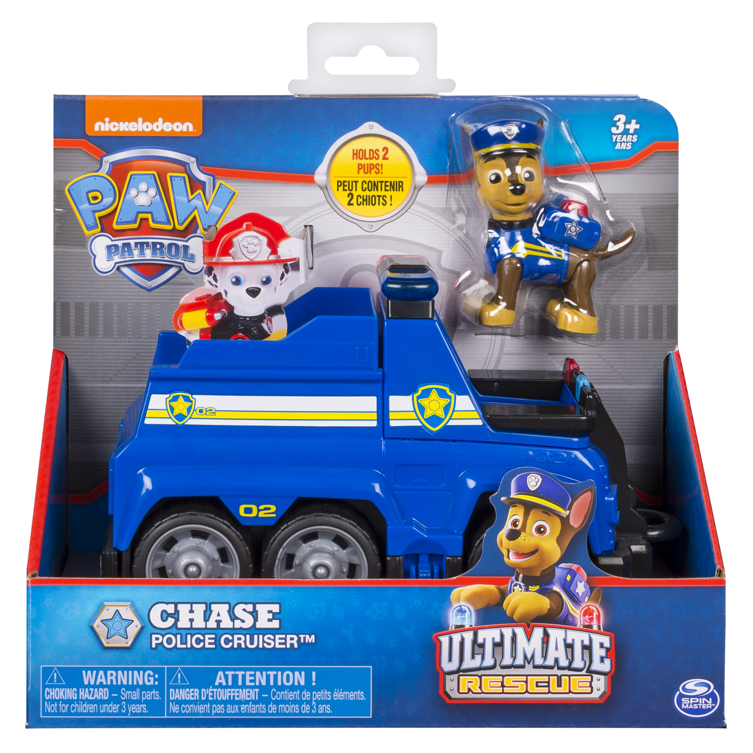 PAW Patrol Ultimate Rescue, Chases Ultimate Rescue Police Cruiser with Lifting Seat and Fold-out Barricade,... by Spin Master Ltd