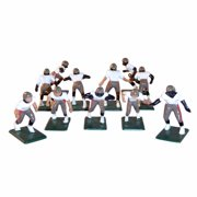 Electric Football 11 Regular Size Players in Tan Red Black Away Uniform