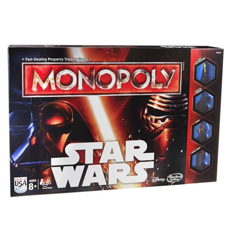 Monopoly Game Star Wars  Collectors Wars 75165 75164 Sticker Made Board Simon Pewter Special Themed Pack Tokens Space 12 Anniversary Free Edition 1 Game    By Hasbro