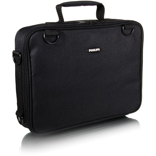 "Philips Portable DVD Player/TV/iPad/Netbook Bag, fits up to 10"" screen, SVC40004B/17"