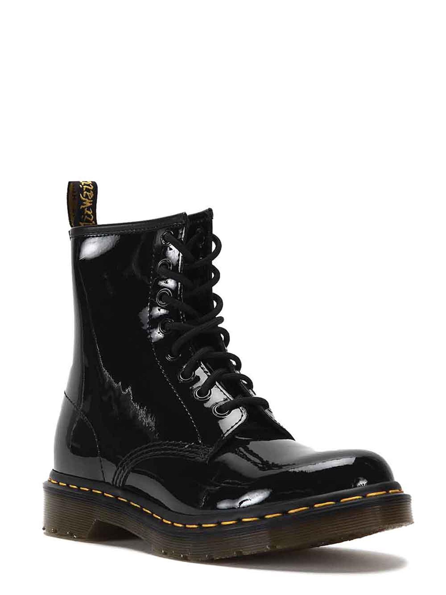 Dr. Martens 11821011 Women's 1460 Patent Boots 11821011 Martens Black 6d1fb9