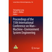 Proceedings of the 15th International Conference on Man–Machine–Environment System Engineering - eBook