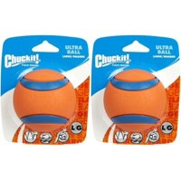 Chuckit Ball Ultra Ball Large (Set of 2), Dog Fetch Toy