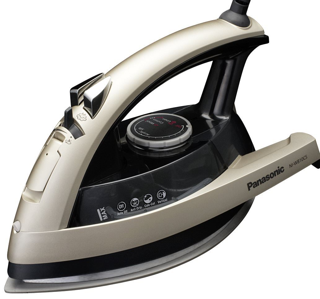 Panasonic 360° Quick Multi-Directional Steam/Dry Iron with Ceramic Soleplate