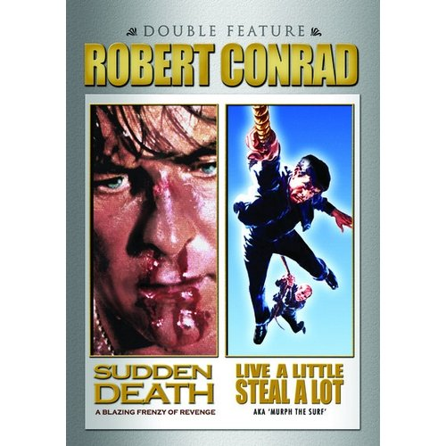 Robert Conrad: Live A Little, Steal A Lot / Sudden Death (Widescreen)
