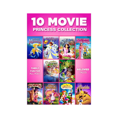 10 Movie Princess Collection (DVD) - Top 10 Halloween Movie Characters