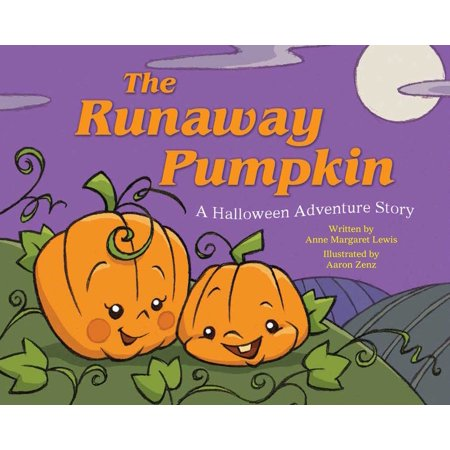 The Runaway Pumpkin : A Halloween Adventure Story - Halloween Story Books For Kids
