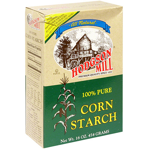 Hodgson Mill 100% Pure Corn Starch, 16 oz (Pack of 12)