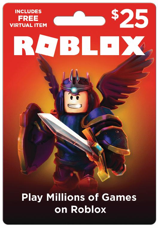 Roblox $25 Game Card, [Digital Download] - Walmart.com
