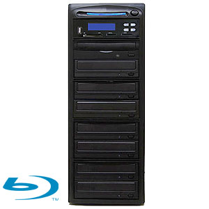 SySTOR 1:7 Blu-ray BDXL Disc Duplicator + USB/SD/CF to Disc Backup Copier Tower