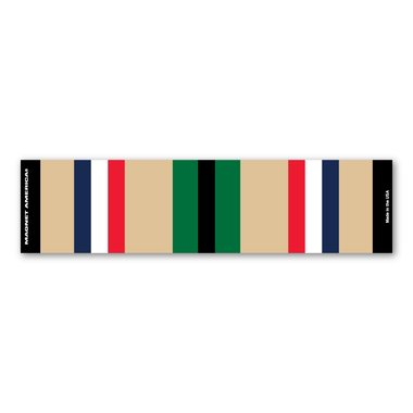 Desert Storm Service Mini Ribbon Bar Magnet