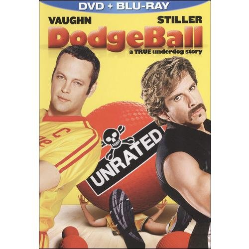 Dodgeball (Unrated) (Blu-ray + Standard DVD) (Widescreen)