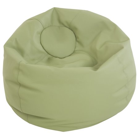 Tremendous Softzone Classic Bean Bag Standard 35In Fern Green Walmart Com Andrewgaddart Wooden Chair Designs For Living Room Andrewgaddartcom