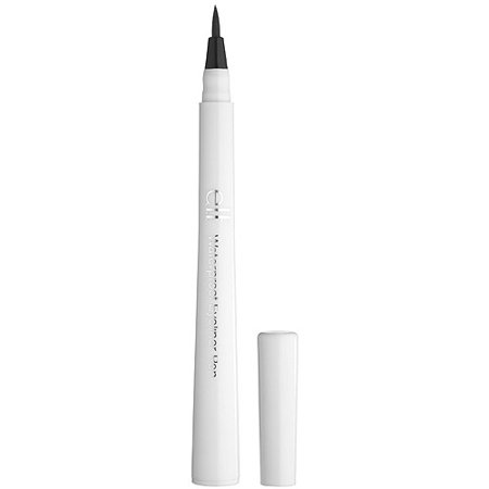 E L F  Waterproof Eyeliner Pen  Black  0 06 Oz