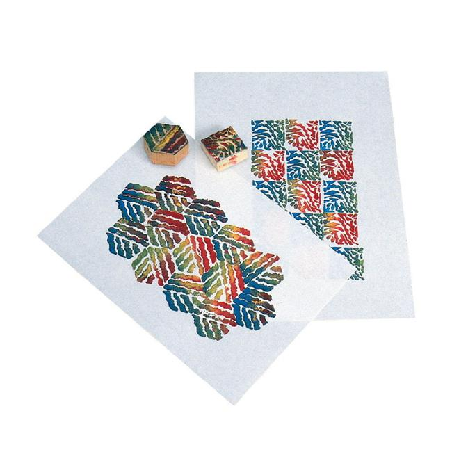 Inovart 246982 Sax Block Printing Paper, 60 lbs, 12 x 18 in., White - Pack of 100