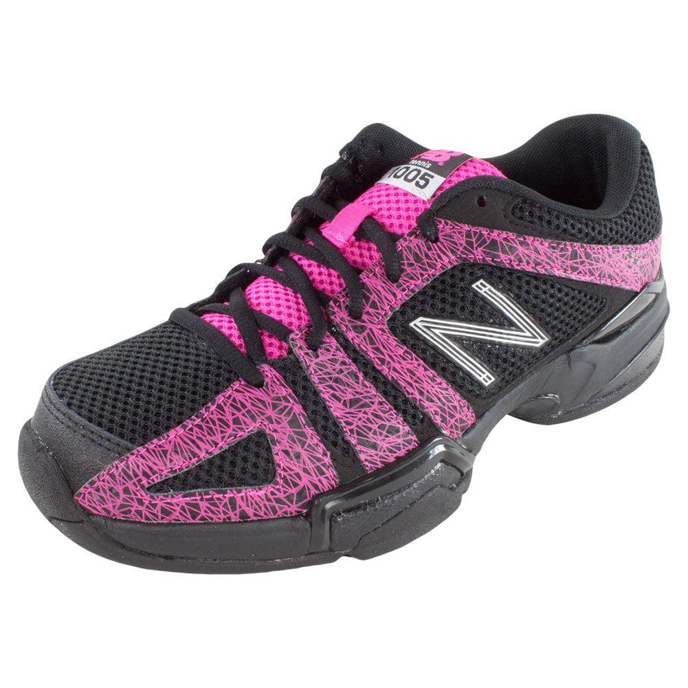 Women`s 1005 B Width Tennis Shoes Black