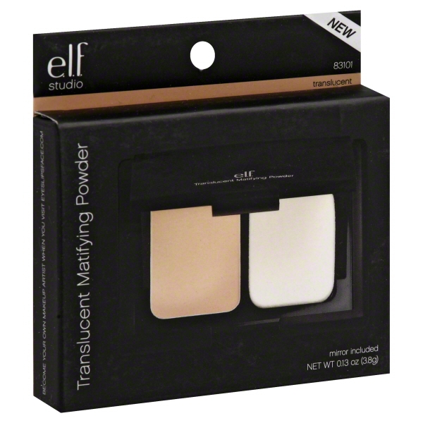 e.l.f. Studio Pointed Foundation Brush Makeup Powder ELF Concealer Professional