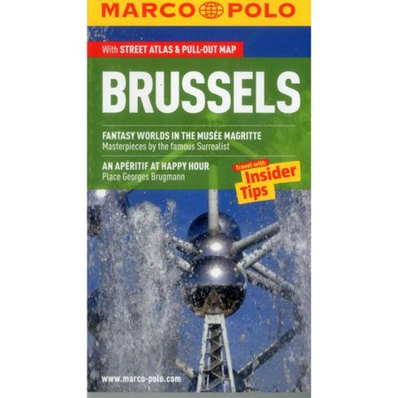marco polo brussels with map. Black Bedroom Furniture Sets. Home Design Ideas
