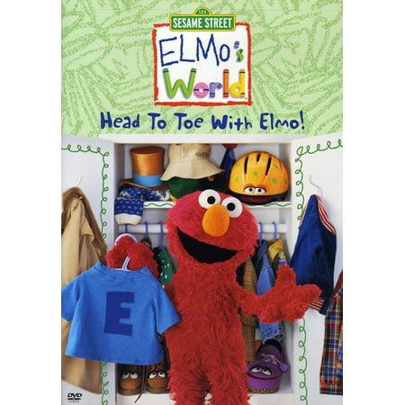 Elmos's World: Head to Toe With Elmo (DVD) - Life Size Elmo